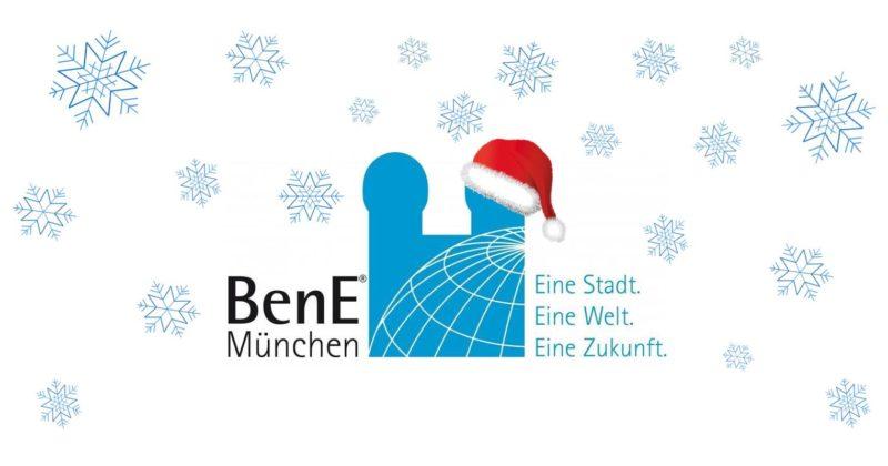 BenE München e.V. wünscht frohe Weihnachten